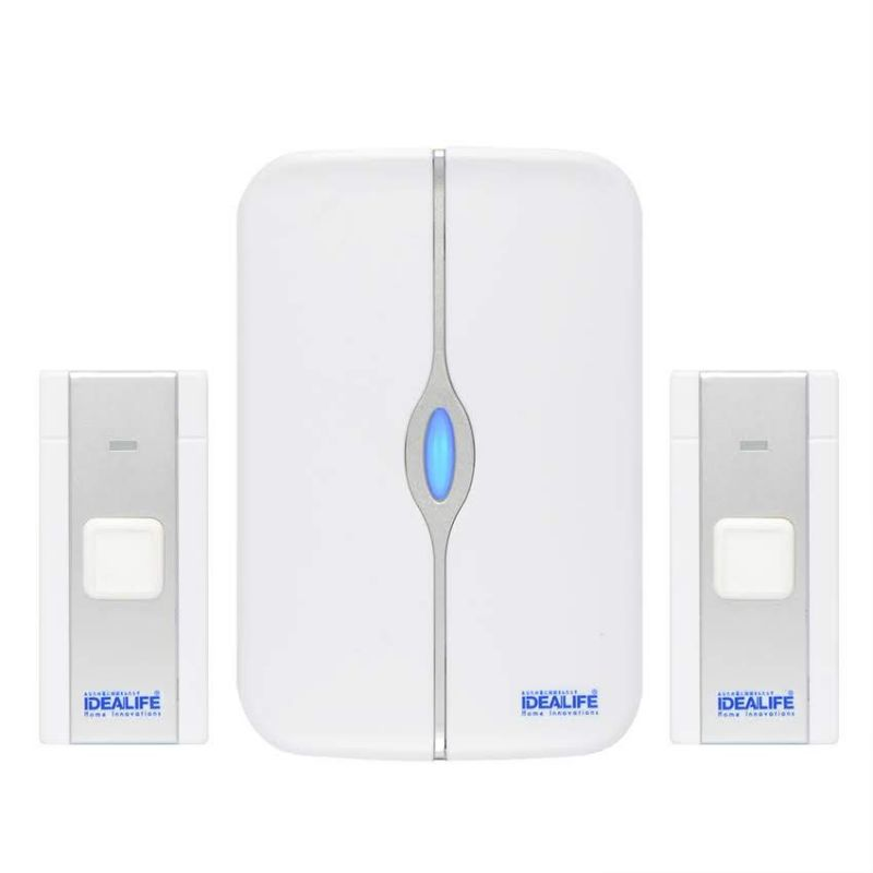 IDEALIFE - DC Wireless Doorbell - Bel Pintu Batterai (IL-302) (2 remote)