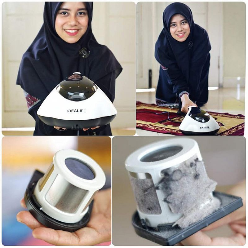IDEALIFE - Dust UV Mite Vacuum Cleaner - Alat Pembunuh Tungau - IL-132