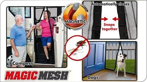 ASOTV - Instant Screen Door - Tirai Pintu - Magic Mesh