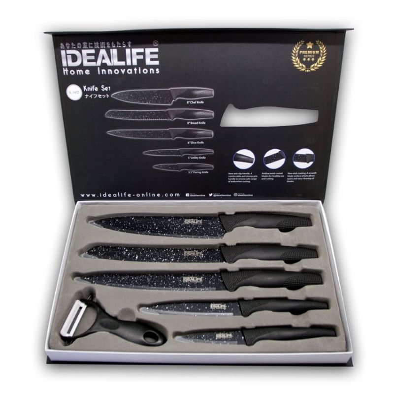 IDEALIFE - Knife Set - IL-160