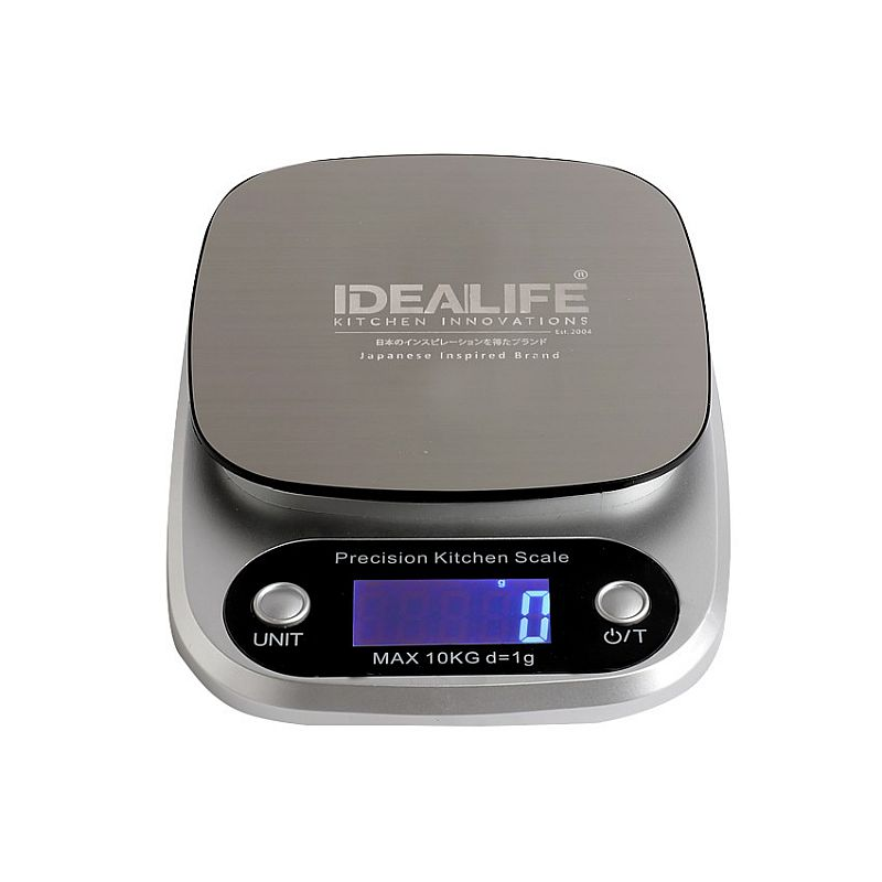 IDEALIFE - Digital Kitchen Scale – 10KG/1GR - Timbangan Kue 10Kg/1Gr - IL–211